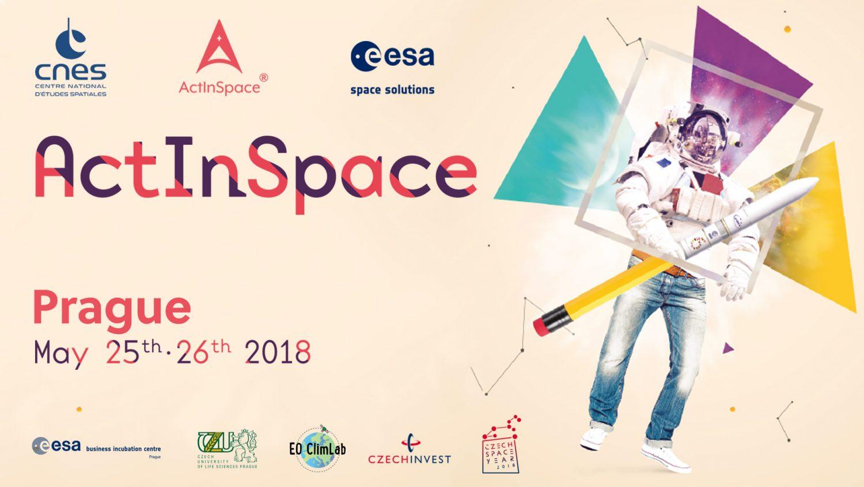 Hackathon ActInSpace 2018 i v ČR!