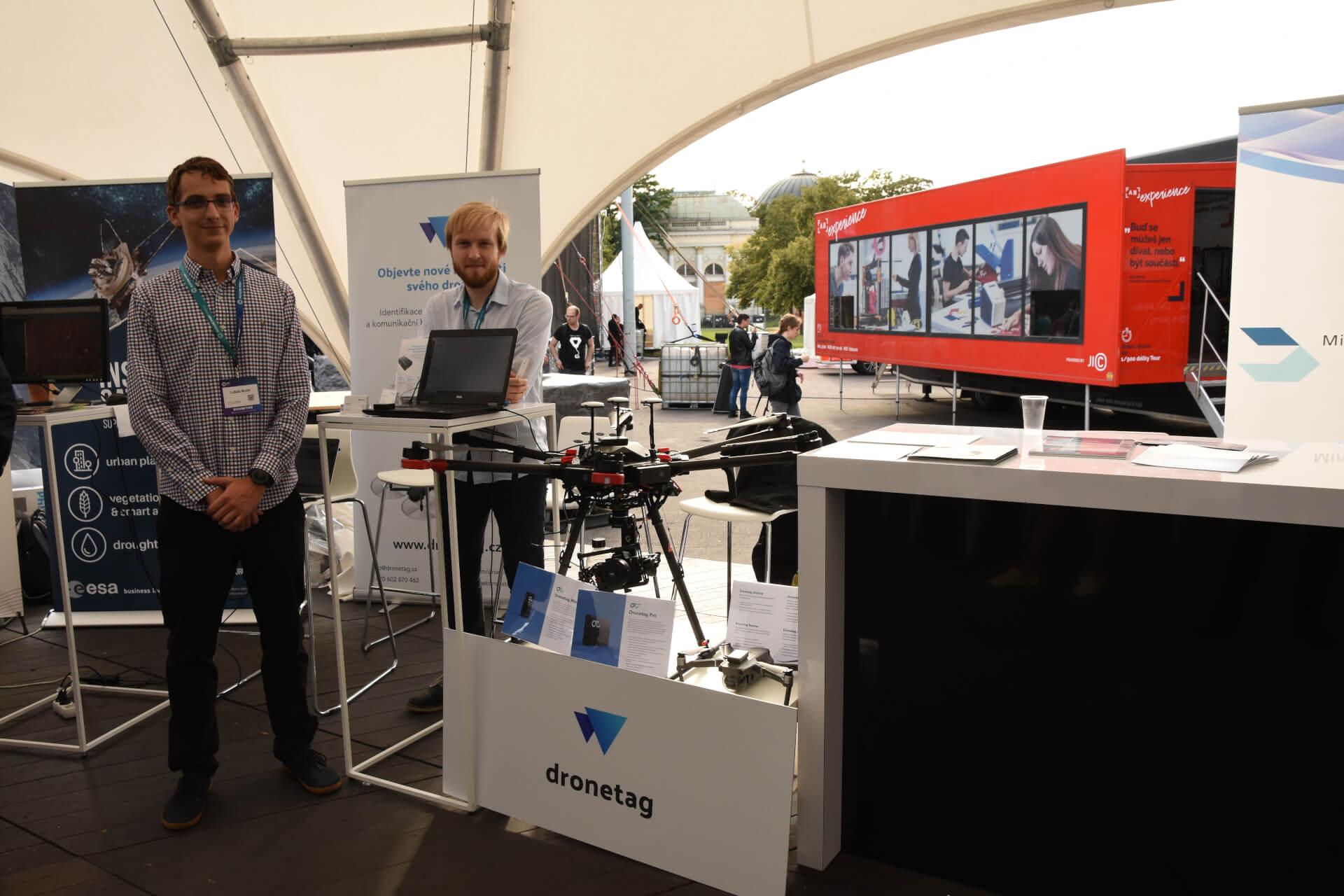 ESA BIC se zúčastnil futuristického festivalu Future Port Prague