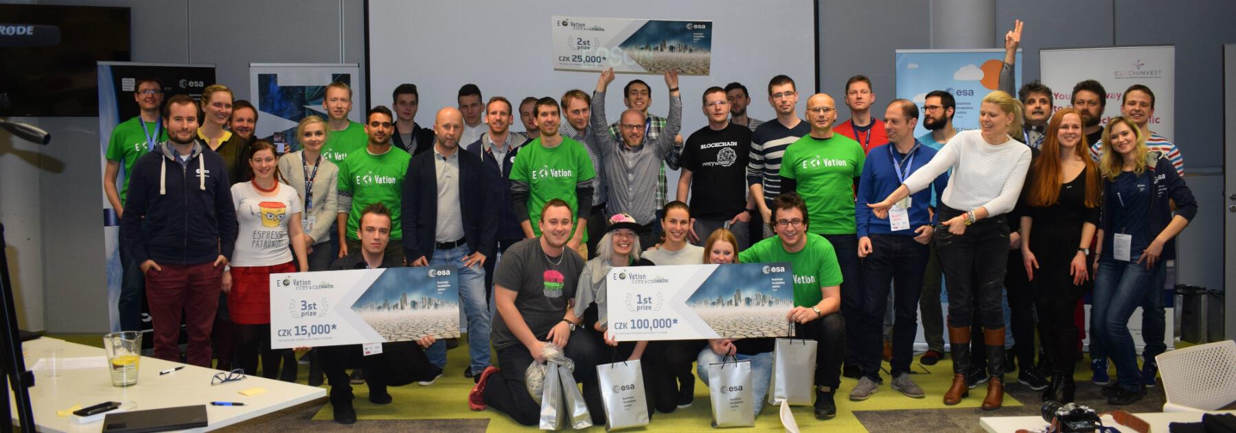 Kdo se stal vítězem hackathonu EOVation City & Climate?