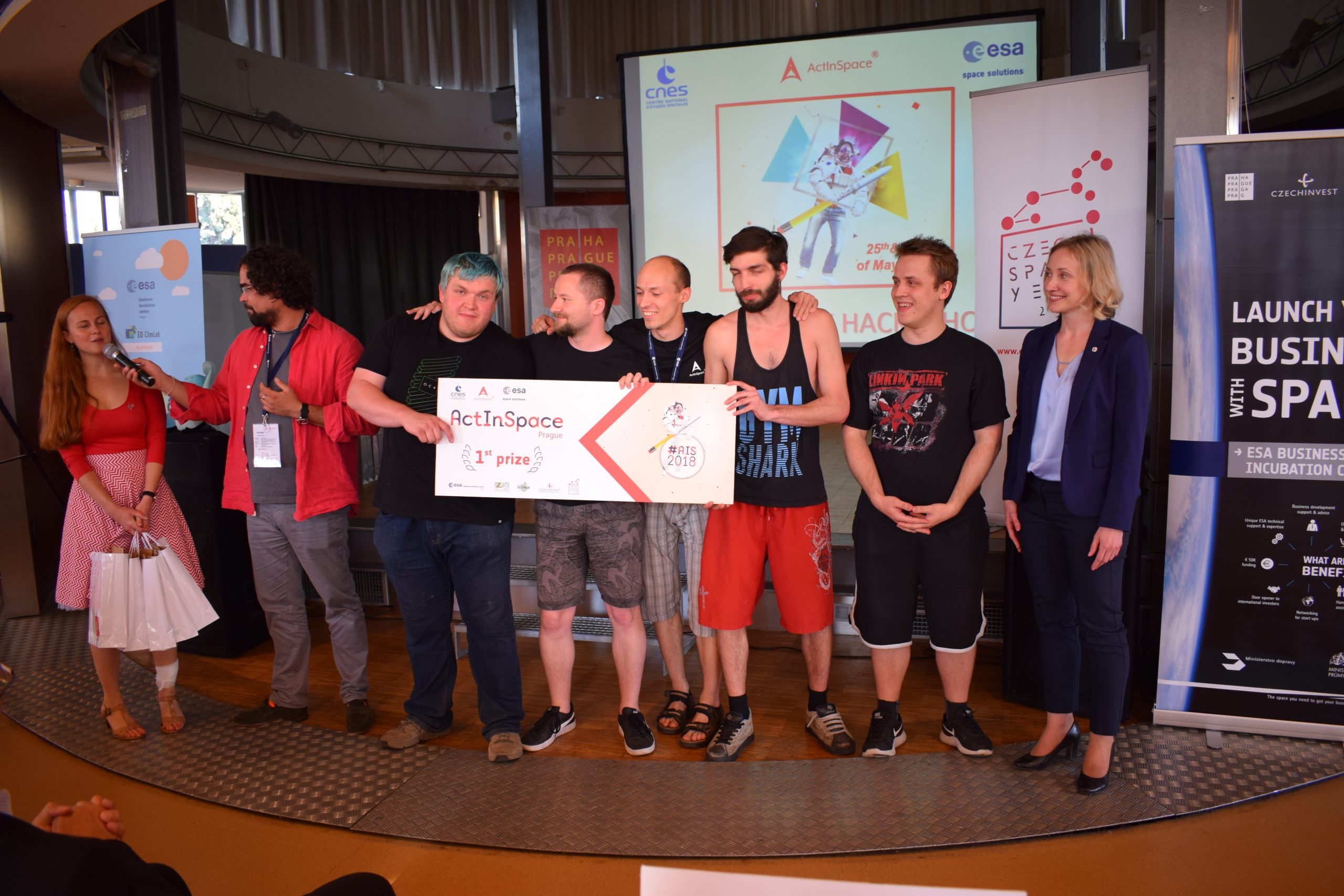 Kdo pojede reprezentovat ČR na finále ActInSpace do Toulouse?