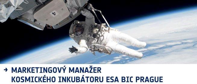 Hledá se marketingový manažer kosmického inkubátoru ESA BIC Prague